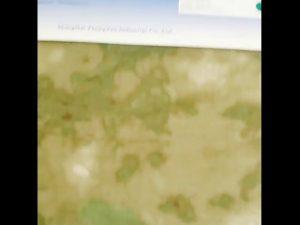 1000D nylon oxford waterbestendige camouflage PU gecoate stof