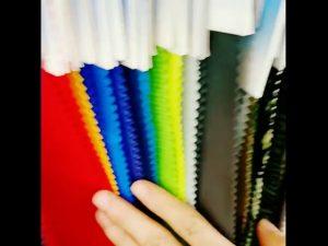 160D waterdichte 10000mm nylon taslan gelamineerde tricot voeringstof