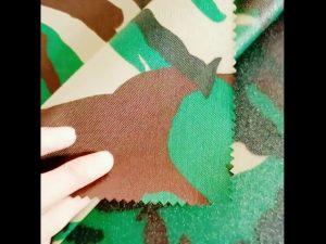 600D polyester oxford 100 polyester leger tactische veststof