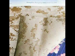 930D waterdichte camouflage bedrukte nylon oxford stof met nyloncoating