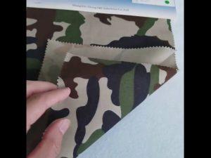 Camouflage patroon 8020 katoen polyester twill stof voor militair uniform