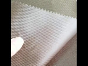 China leverancier 1680D polyester PU gecoat Oxford stof voor rugzak