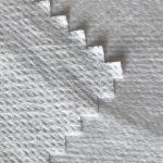 WF1 / O9TO5 SS + PTFE Niet-geweven stof gelamineerd met PTFE melkachtig ademend membraan van medisch beschermend pak