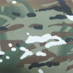 teflon 100% polyester geweven waterdichte outdoor militaire camouflage regenjas stof