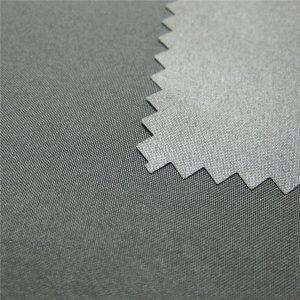100% Polyester Pongee gecoate waterdichte buiten donsjack stof