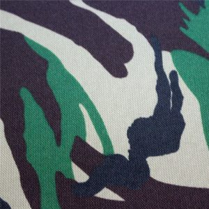 Oxford-stoffen: polyester 600d, 300 gsm, normale camouflageprint
