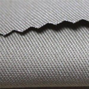 350 gsm katoen vlamvertragend satijn werkkleding materiaal EN11612 FR stof voor overall