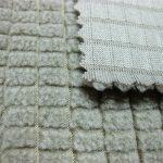 Polyester fleece stof / duurzaam super poly twill ademende stof voor trainingspakken
