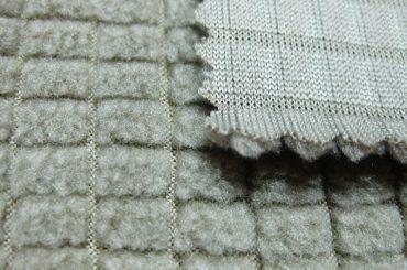 Polyester fleece stof