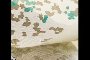 Waterdichte 1000d nylon dupont cordura stof voor tassen