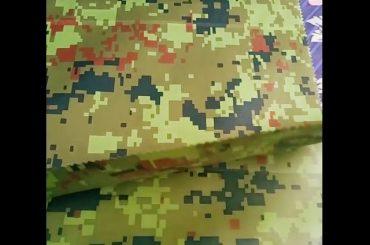 china fabrikant groothandel camouflage reliëf regenkleding geotextiel voor outdoor stof